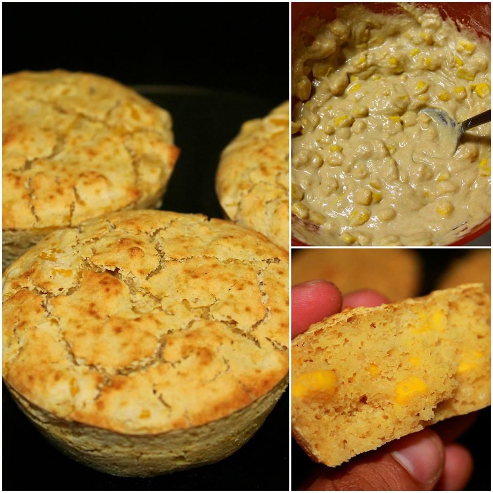 Muffins de Milho sem Gluten